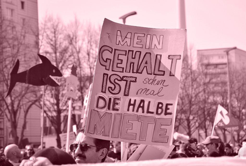 Foto Demo Mietenwahnsinn | Gerechtigkeit